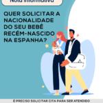 Quer solicitar a nacionalidade do seu bebê recém nascido na Espanha?